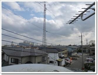 加須市下三俣I様 東京タワー方向の景色。.JPG