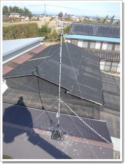 加須市下谷W様 アンテナ工事完了。.JPG