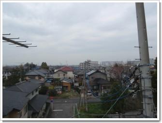 加須市花崎K様 前橋局方向の景色。.JPG