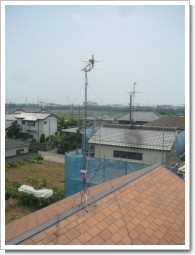 加須市花崎Y様 アンテナ工事完了。.JPG