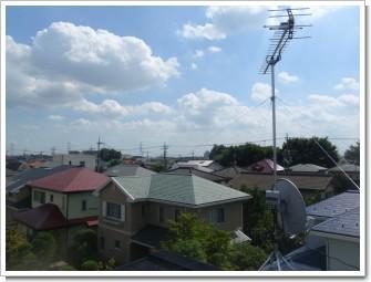 加須市花崎北K様 東京タワー方向の景色(完了)。.JPG