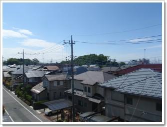 加須市花崎北K様 東京タワー方向の景色。.JPG