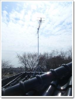 加須市花崎北S様 アンテナ工事完了。.JPG