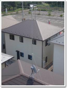加須市花崎北T様 アンテナ工事完了。.JPG