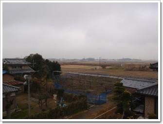 加須市外田ヶ谷F様 児玉局方向の景色。.JPG
