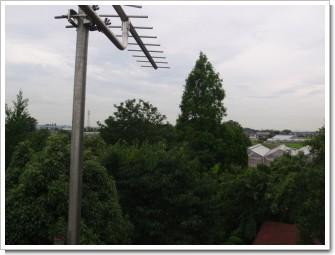 加須市上樋遣川T様 東京タワー方向の景色。.JPG