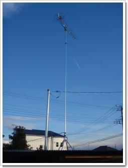 加須市戸室S様 アンテナ工事完了。.JPG