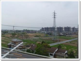 加須市南篠崎立野裏Y様 東京タワー方向の景色。.JPG
