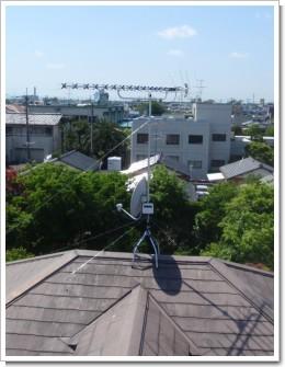 加須市南町H様 アンテナ工事完了。.JPG