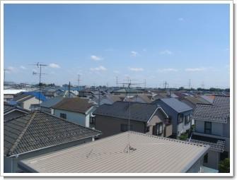 加須市南町H様 東京タワー方向の景色。.JPG