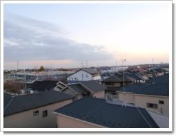 加須市川口M様 東京タワー方向の景色。.JPG