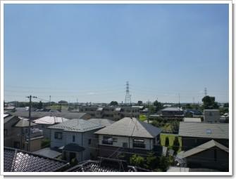 加須市川口A様 東京タワー方向の景色。.JPG
