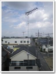 加須市川口K様 アンテナ工事完了。.JPG