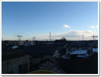 加須市川口Y様 東京タワー方向の景色。.JPG