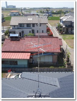 加須市礼羽T様 アンテナ工事完了。.JPG