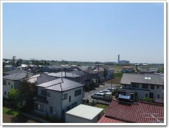 加須市礼羽T様 東京タワー方向の景色。.JPG