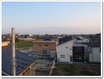 加須市不動岡T様 東京タワー方向の景色。.JPG