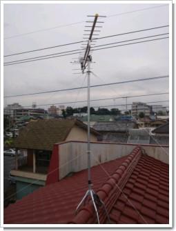 加須市富士見町H様 アンテナ工事完了。.JPG