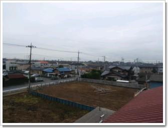 加須市富士見町H様 東京タワー方向の景色。.JPG