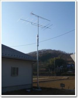 滑川町伊古T様 アンテナ工事完了。.JPG