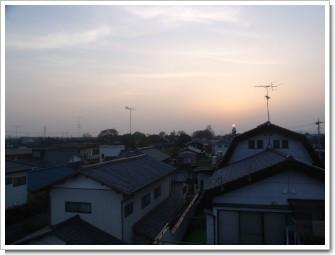 館林市日向町T様 前橋局方向の景色。.JPG