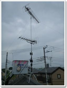 上尾市瓦葺H様 アンテナ工事完了。.JPG
