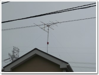 上尾市上尾下K様 VHFアンテナ付け終わりました。.JPG