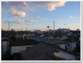上尾市上尾下H様 東京タワー方向の景色。.JPG