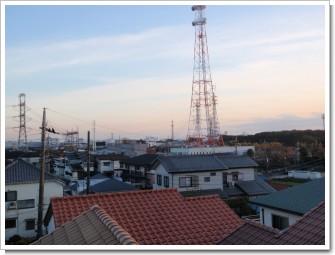 上尾市上尾下N様 東京タワー方向の景色。.JPG