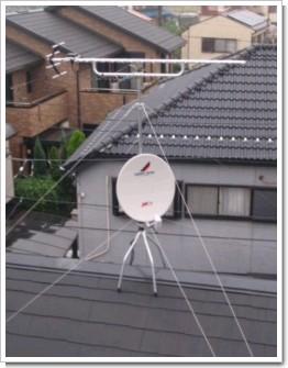 上尾市小敷谷T様 アンテナ工事完了。.JPG