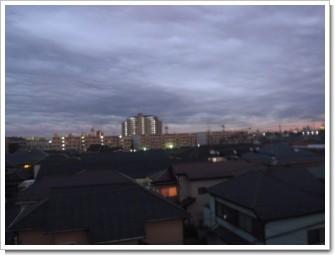 上尾市原市A様 東京タワー方向の景色。.JPG