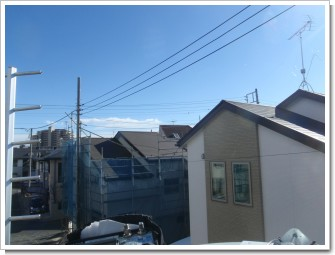 上尾市原市Y様 東京タワー方向の景色。.JPG