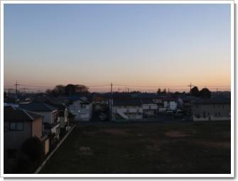 上尾市向山O様 東京タワー方向の景色。.JPG