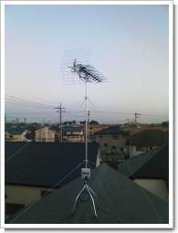 上尾市南T様 アンテナ工事完了。.JPG