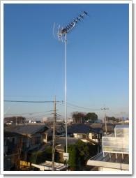上尾市浅間台O様 アンテナ工事完了。.JPG