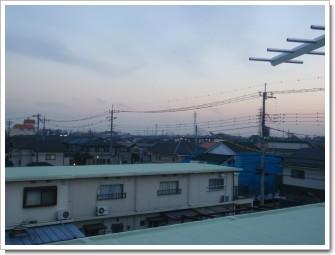 上尾市富士見M様 東京タワー方向の景色。.JPG
