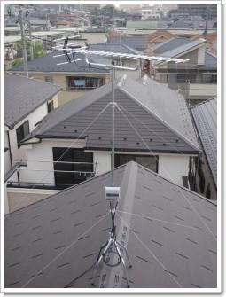 上尾市富士見S様 アンテナ工事完了。.JPG