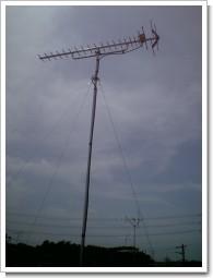 上尾市平塚F様UHFアンテナが立ちました。.JPG