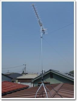 上尾市本町N様 アンテナ工事完了。.JPG