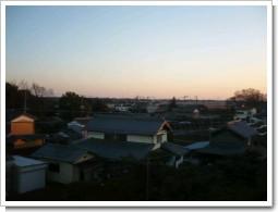 菖蒲町小林K様 受信方向(東京タワー方向)の景色。.JPG