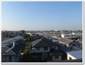 熊谷市久下I様 前橋局方向の景色。.JPG