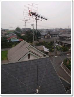 熊谷市久下K様 アンテナ工事完了。.JPG