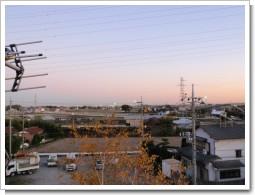 熊谷市久保島O様 東京タワー方向の景色。.JPG