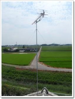 熊谷市上江袋I様 アンテナ工事完了。.JPG