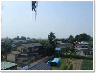 熊谷市上須戸T様 児玉局方向の景色。.JPG