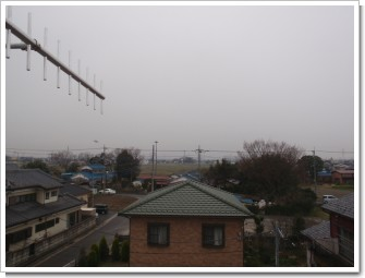 熊谷市原島M様 児玉局方向の景色。.JPG