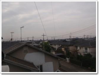 熊谷市妻沼東K様 前橋局方向の景色。.JPG