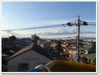 熊谷市新堀M様 前橋局方向の景色。.JPG