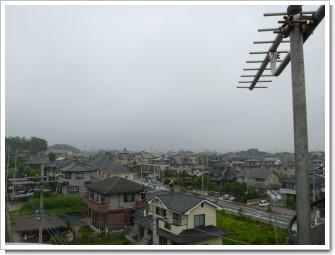 熊谷市船木台S様 前橋局方向の景色。.JPG