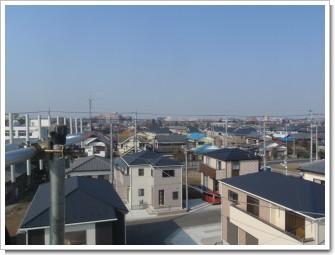 熊谷市大原M様 児玉局方向の景色。.JPG